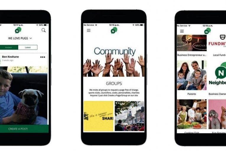 A locally grown community app