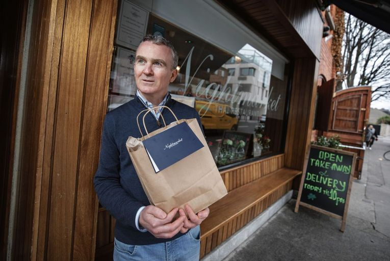 Conor Sexton owner of Nightmarke Restaurant in Ranelagh. Picture: Fergal Phillips.