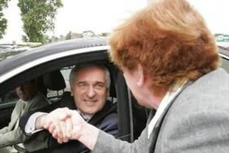 Ahern and Micheal Martin: the statements