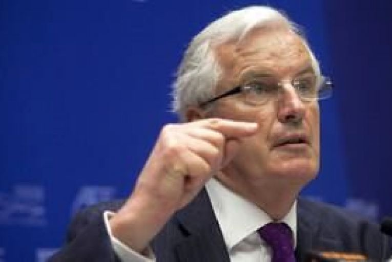Busy day in Dublin for EU Brexit chief