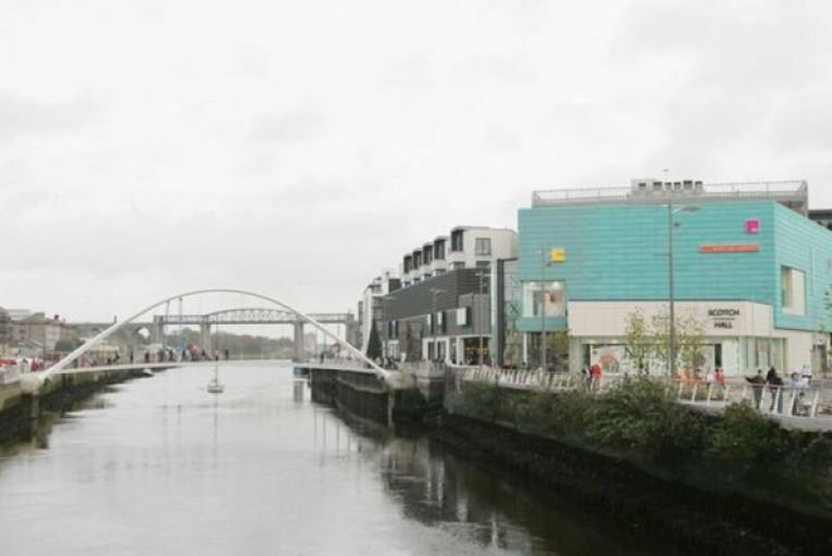 The planned development is located next to the Scotch Hall shopping centre in Drogheda