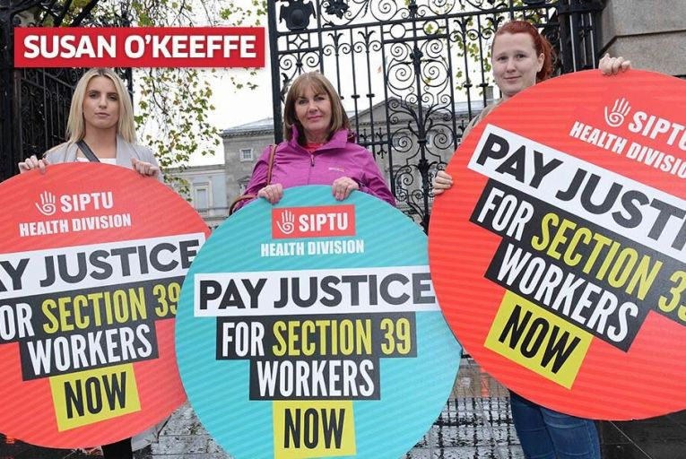 Strike by Section 39 workers looks inevitable. Pic: RollingNews.ie