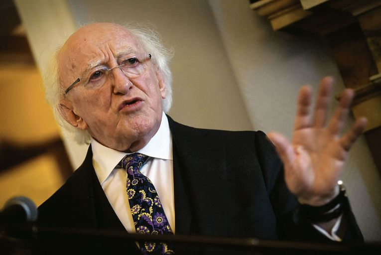 Michael D Higgins: alerted Department of Foreign Affairs to his concerns months in advance. Picture: Tommy Clancy