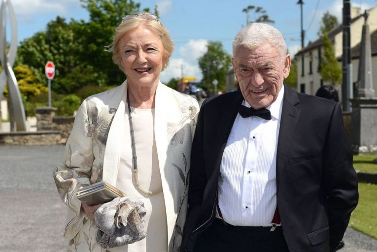 John Clarke and his late wife, broadcasting legend Marian Finucane