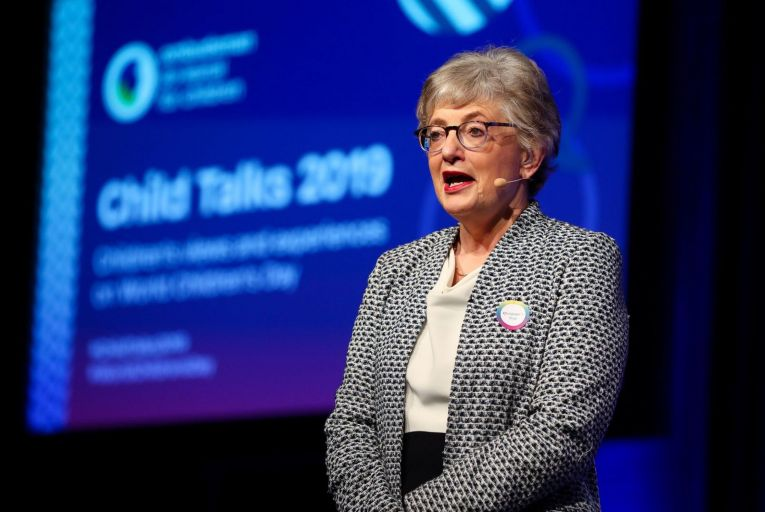 Katerine Zappone was the one who approached Coveney in the first place about getting a UN role of some description. Picture: Maxwells