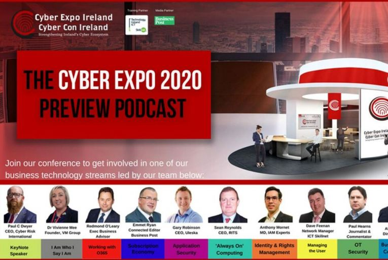 Renaissance, Ireland's leading Data Security Distributor is delighted to introduce the annual Cyber Data and Compliance Expo & conference – this year held virtually!