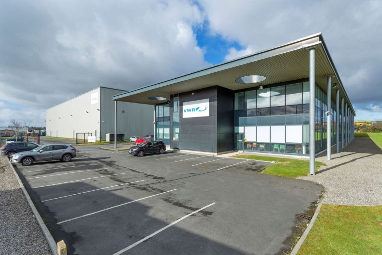 A 7,025 square metre unit leased to pharmaceutical company VWR International at Northwest Industrial Estate was bought by Arrow Capital