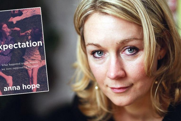 Anna Hope: her first contemporary novel explores three women's fear of running out of options