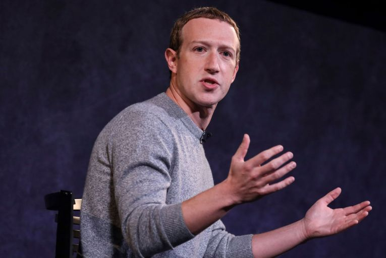 Mark Zuckerberg, chief executive of Facebook: in deciding to ban Donald Trump from the platforms, Facebook accepted that it was a publisher