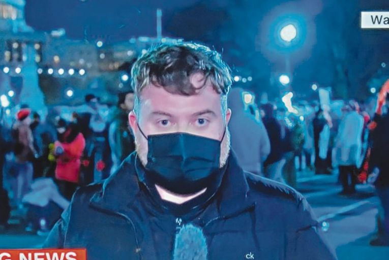Donie O'Sullivan, the Cahersiveen-born CNN journalist, pointed to the harm caused to democracy by social and partisan media