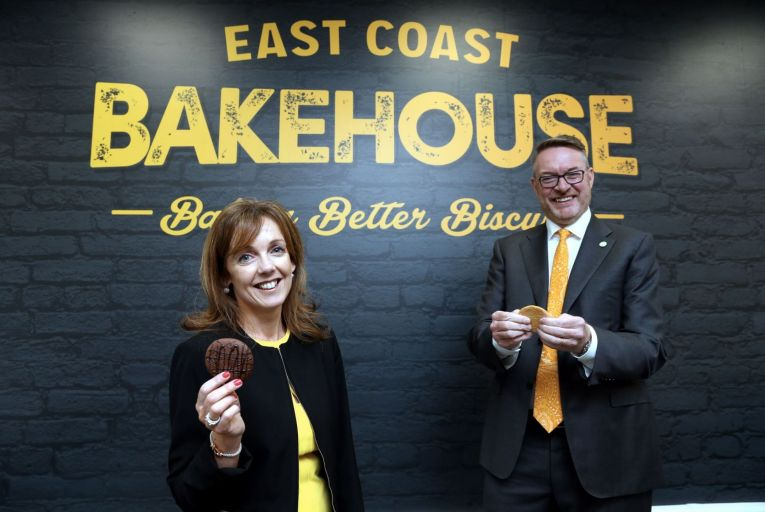 Alison Cowser and her husband Michael Carey, co-founders of East Coast Bakehouse Picture: Jason Clarke Photography.