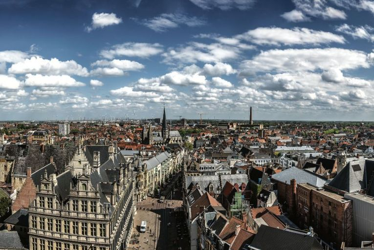 Ghent, known as the historic heart of Flanders and a medieval masterpiece