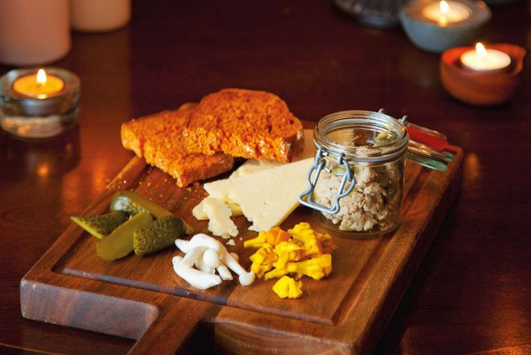 The ploughman's platter from L Mulligan Grocer