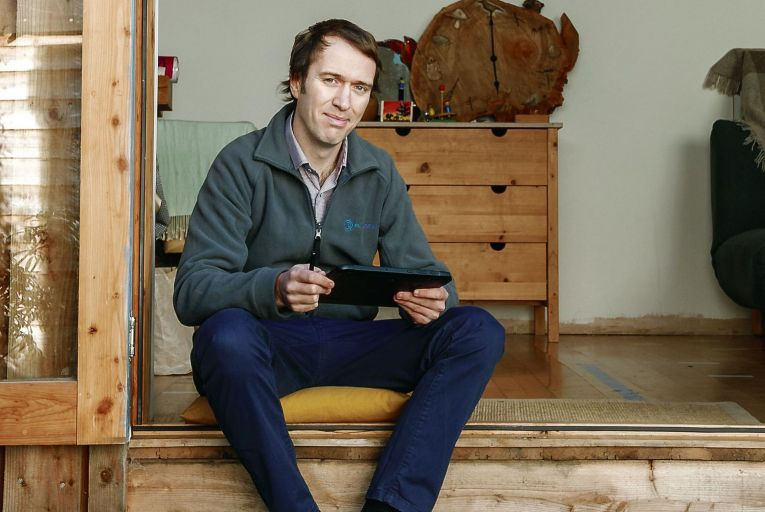 Gerard Carton, the co-founder and chief executive of Waterford-based tech start-up PlantQuest. Picture: Simon Grosset