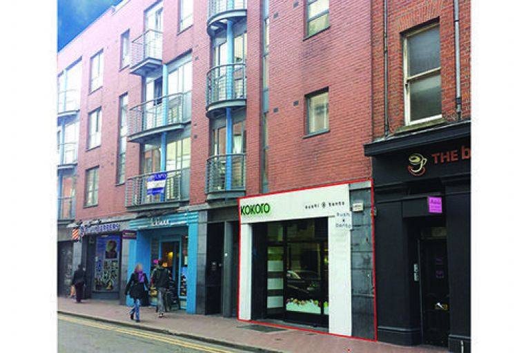 Offers sought for retail unit in central Dublin