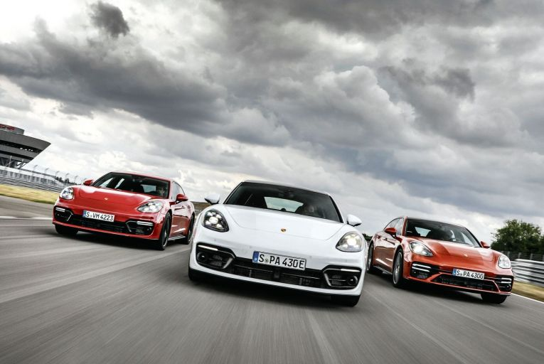 On-test: Porsche launches its new power players