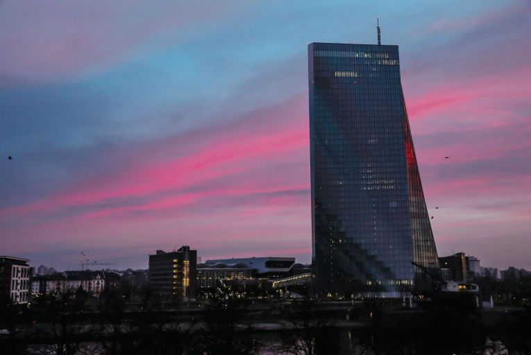 The European Central Bank in Frankfurt: Germany has been most reluctant to support a banking union. PIcture: Getty