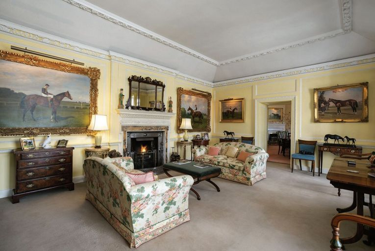 Eyrefield Lodge in Kildare: the sale of the house's contents includes 14 oil paintings, mostly of horses