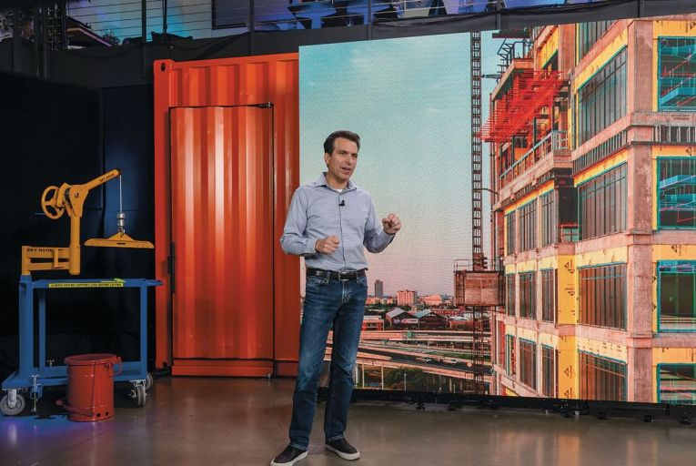 Andrew Anagnost, chief executive of Autodesk: 'The big trend in 2021 will be virtual creation. Everyone is going to figure out how to make it work.'