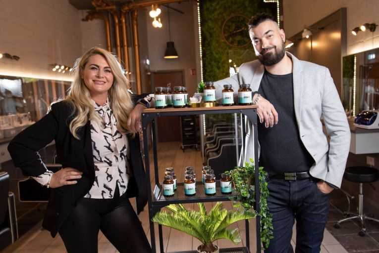 Getting ahead in salons with new hair supplement brand
