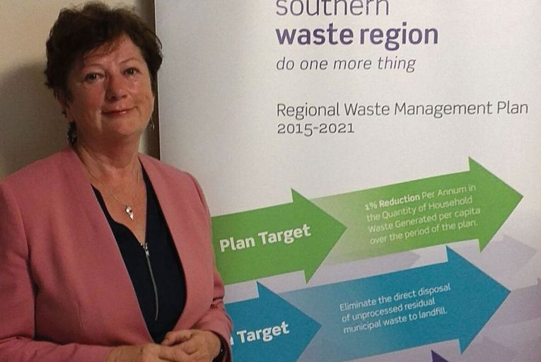Margaret Murphy, resource efficiency officer, Southern Waste Region: the goal is to move up the waste hierarchy