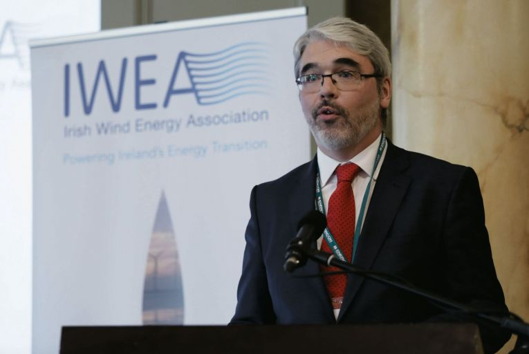 Justin Moran, Head of Communications and Public Affairs at Wind Energy Ireland