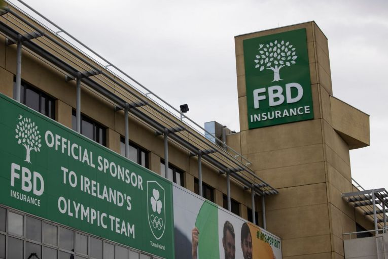 FBD Insurance's head office in Dublin: the firm has been hit by a wave of business interruption claims.  Picture: Fergal Phillips