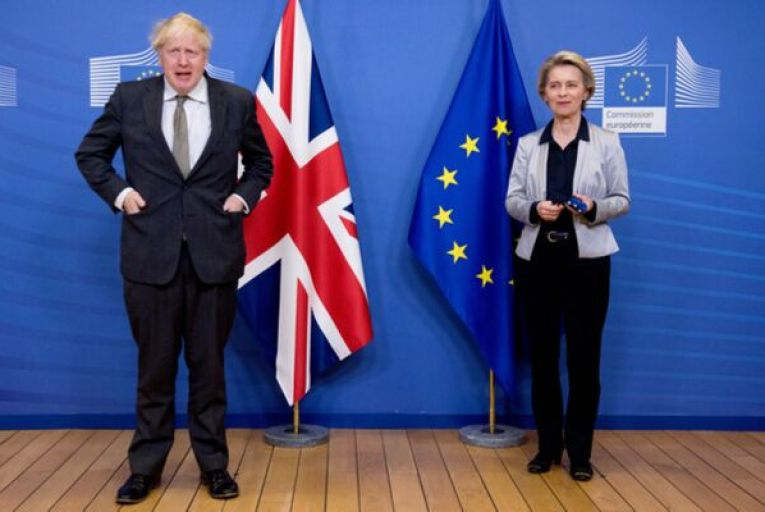 Boris Johnson, the British Prime Minister, and Ursula von der Leyen, the European Commission president, failed to come to an agreement during their dinner in Brussels last night