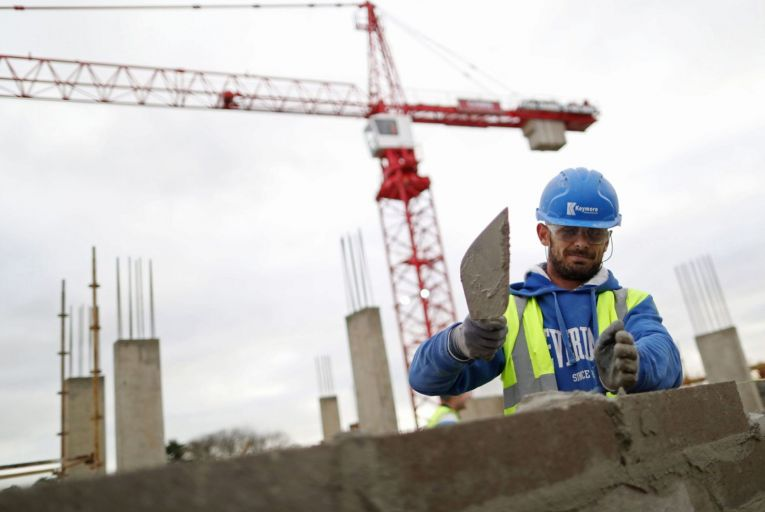 Tom Parlon, director general of Construction Industry Federation, has criticised wait times for work permits and PPS numbers for workers moving to Ireland. Picture: Chris Ratcliffe/Bloomberg