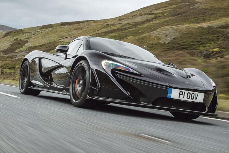 McLaren P1: it's genuinely difficult to believe that this car is five years old