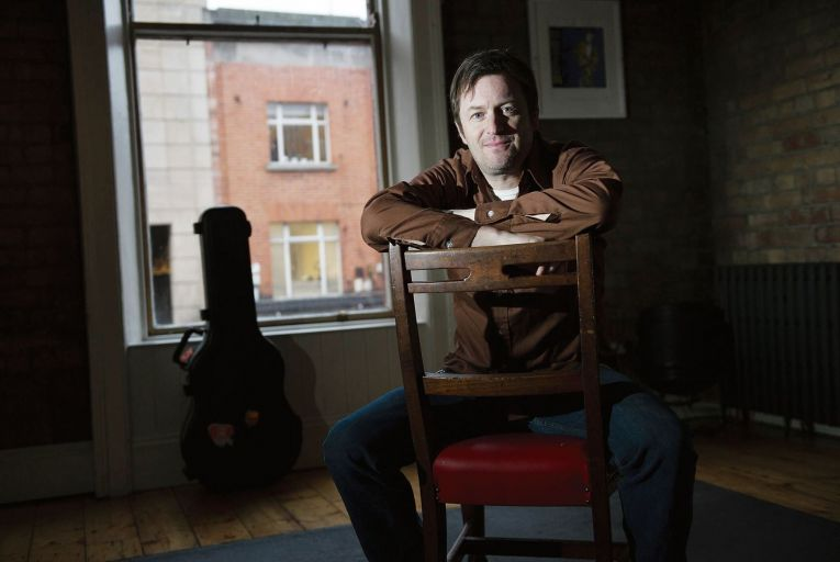 Willy Vlautin, described by Roddy Doyle as 'one of America's great writers' also singsn and plays guitar with Portland band the Delines. Picture: Maura Hickey