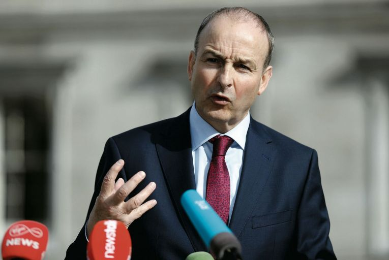 Micheál Martin's Fianna Fáil has fell to just 14% in the latest poll