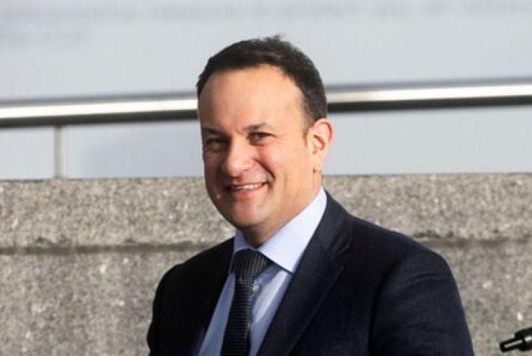 Tánaiste Leo Varadkar took aim at Sinn Féin's performance on Covid-19 in the North