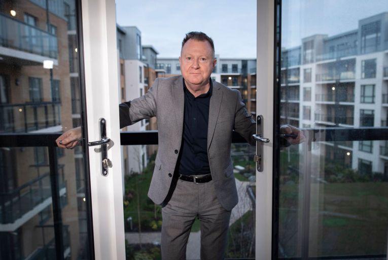 Sean O'Connor, chief executive of Tuath Housing: bumper year Picture: Fergal Phillips