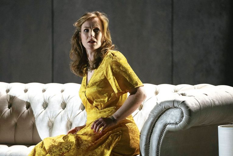 Paula Murrihy in Irish National Opera's production of Bartók Bluebeard's Castle