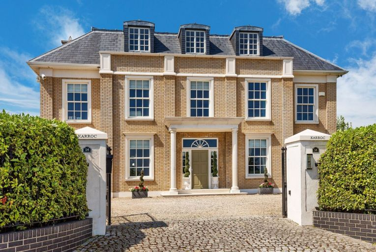 Karroc in Myra Manor is an imposing, double-fronted detached home built over three storeys