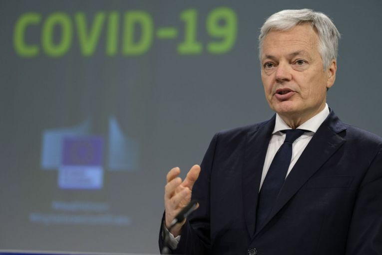 Didier Reynders' phone number and other personal data was included in information, which is now freely available online