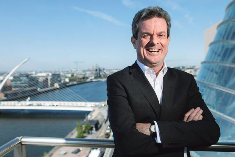 Feargal O\'Rourke, managing partner of PwC Ireland: 'There's no doubt that the taking of the case caused Ireland reputational damage . . . All that you could hear was 'Apple, tax, Ireland'.' Photo: Fergal Phillips