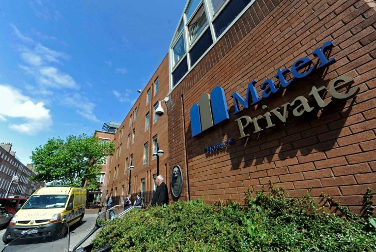 """'The cost of delivering care had gone up significantly and that the Mater Private's capacity to deliver care had been """"significantly reduced' Picture: RollingNews.ie"""