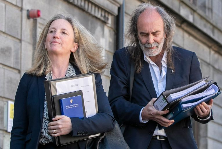 Gemma O'Doherty and John Waters, the anti-lockdown campaigners, represented themselves in court