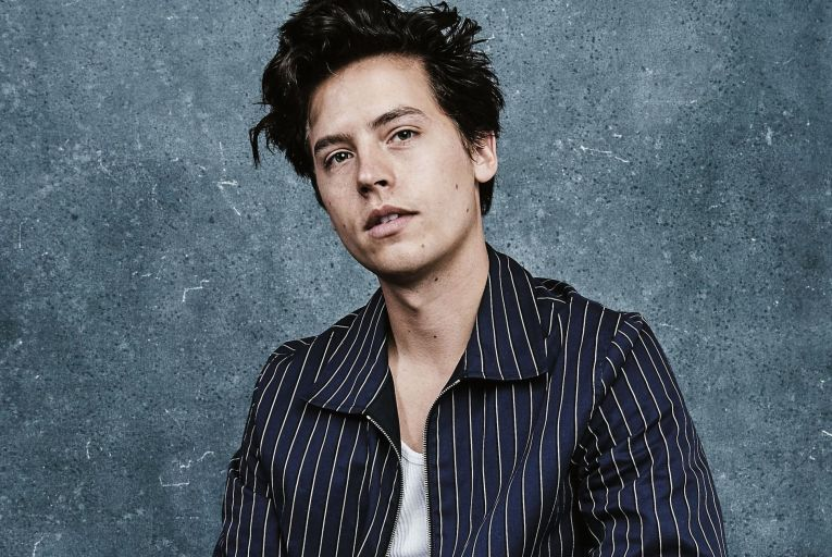 Cole Sprouse, the producer and star of fictional podcast Borrasca