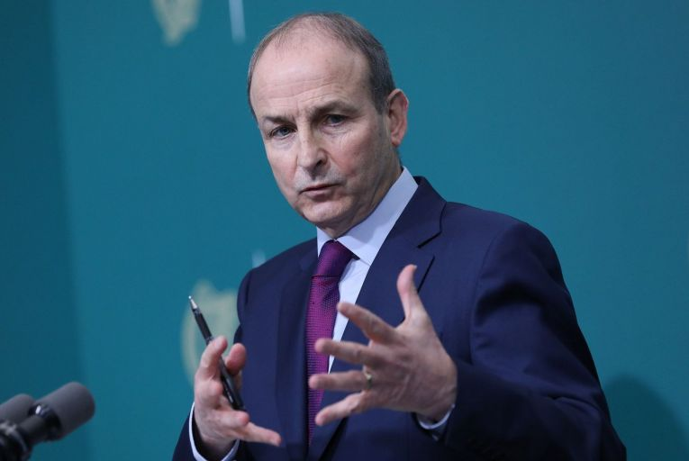 Micheál Martin, the Taoiseach and Fianna Fáil leader: the hegemony enjoyed for so long by his party was demolished after the financial crash of 2008