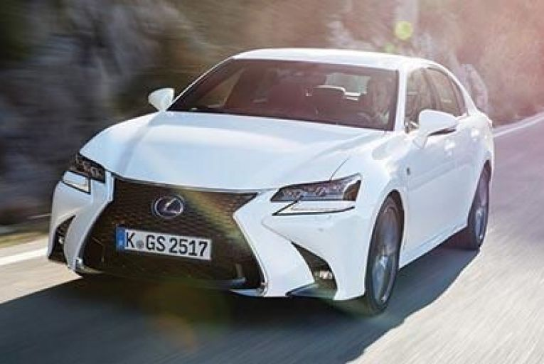 The new Lexus GS 450h: the engine is smooth and culturedat all times