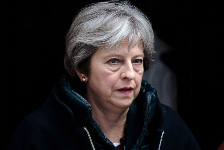 Theresa May, the former British prime minister: her backstop proposal allowed opportunities for a low corporation tax rate and single market access for the North