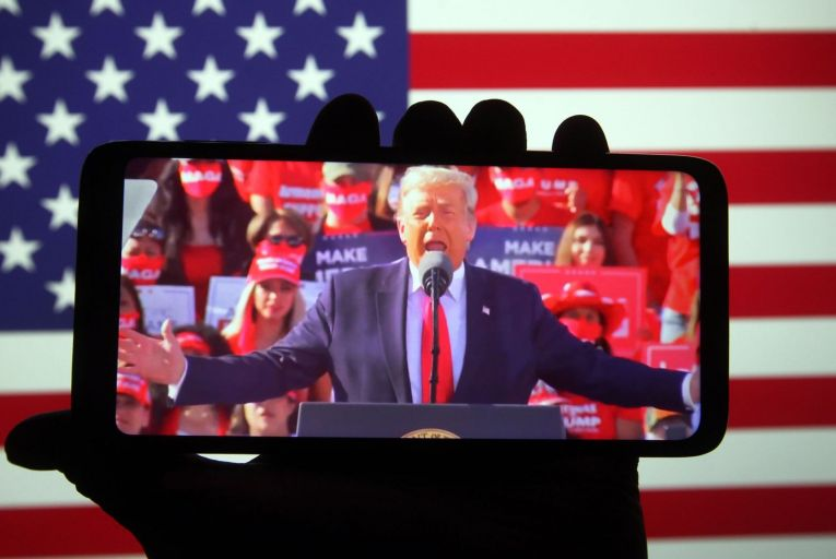 Donald Trump's presidency has been a financial boon to his media critics and supporters. Picture: Getty