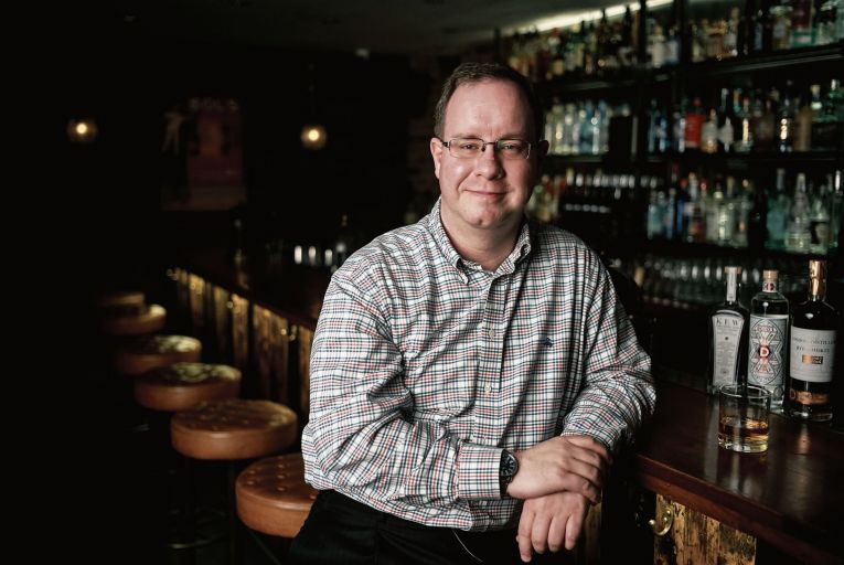 Killian O'Sullivan, chief commercial officer at Connacht Whiskey: 'We've put a lot of work into creating assets that tell the story' Picture: Christian Banfield