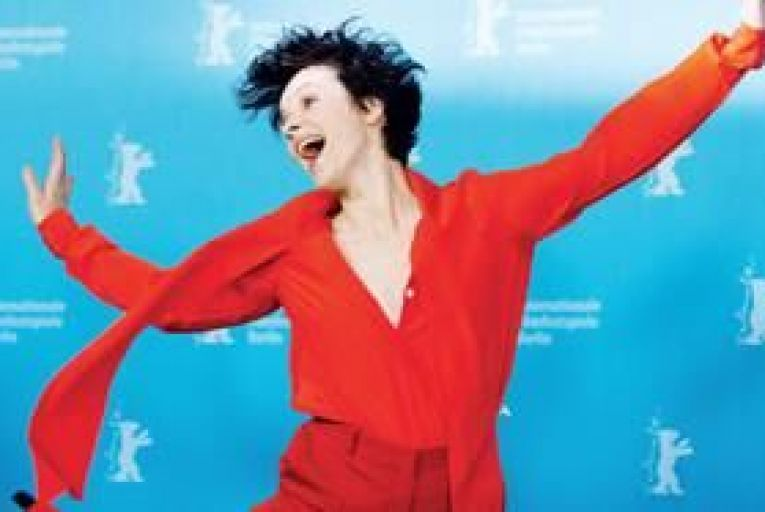 Juliette Binoche: I\'m here to participate in the world. I feel lucky. I\'m very active. My relaxation is being involved\' Picture: EPA