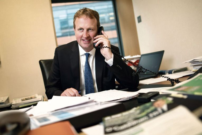 Jim O'Callaghan: outlining vision for Fianna Fáil Picture: Fergal Phillips