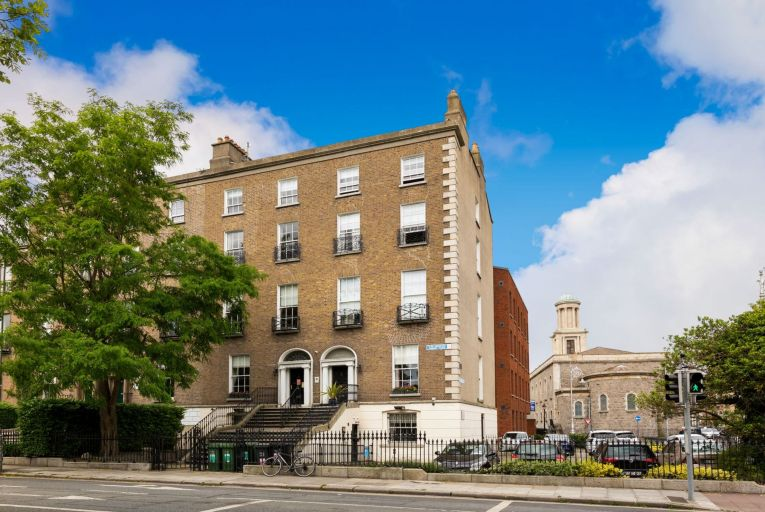 27 and 28 Herbert Place provide some 616.51 square metres of office space (net internal area). Picture: Lisney
