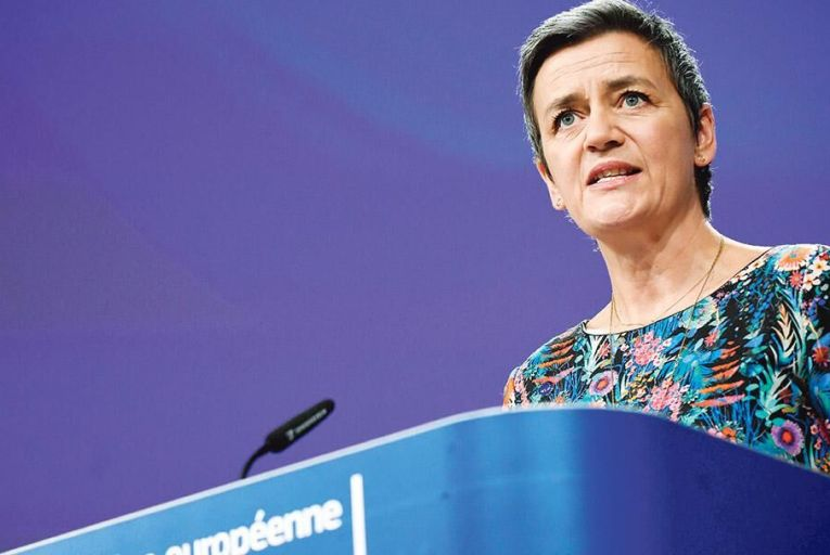 Margrethe Vestager: the outgoing EU competition commissioner has shown an aggressive approach to breaches of competition law Pic: Getty